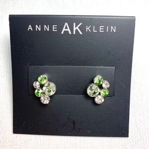 Anne Klein Crystal Earrings